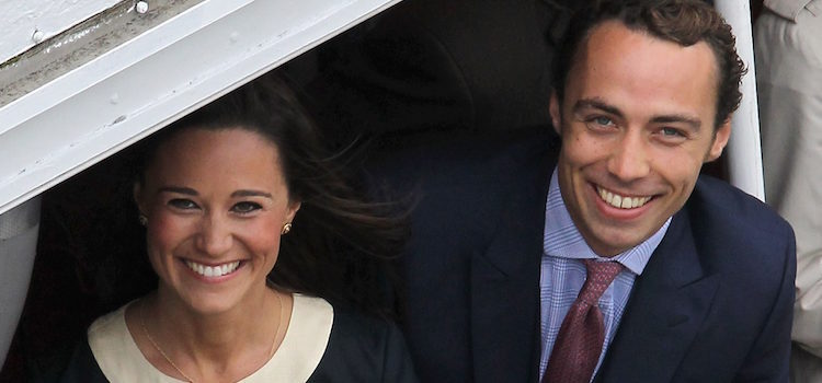 Los hermanos Pippa y James Middleton