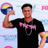 Pauly D, concursante de 'Jersey Shore', presume de musculatura