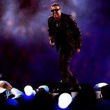 George Michael interpretó 'Freedom' en la gala de clausura de los Juegos Olímpicos