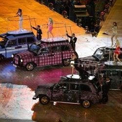 Las Spice Girls en la clausura de los Juegos Olímpicos