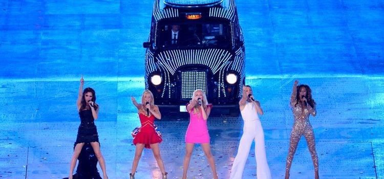 Las Spice Girls, reunidas en la clausura de Londres 2012