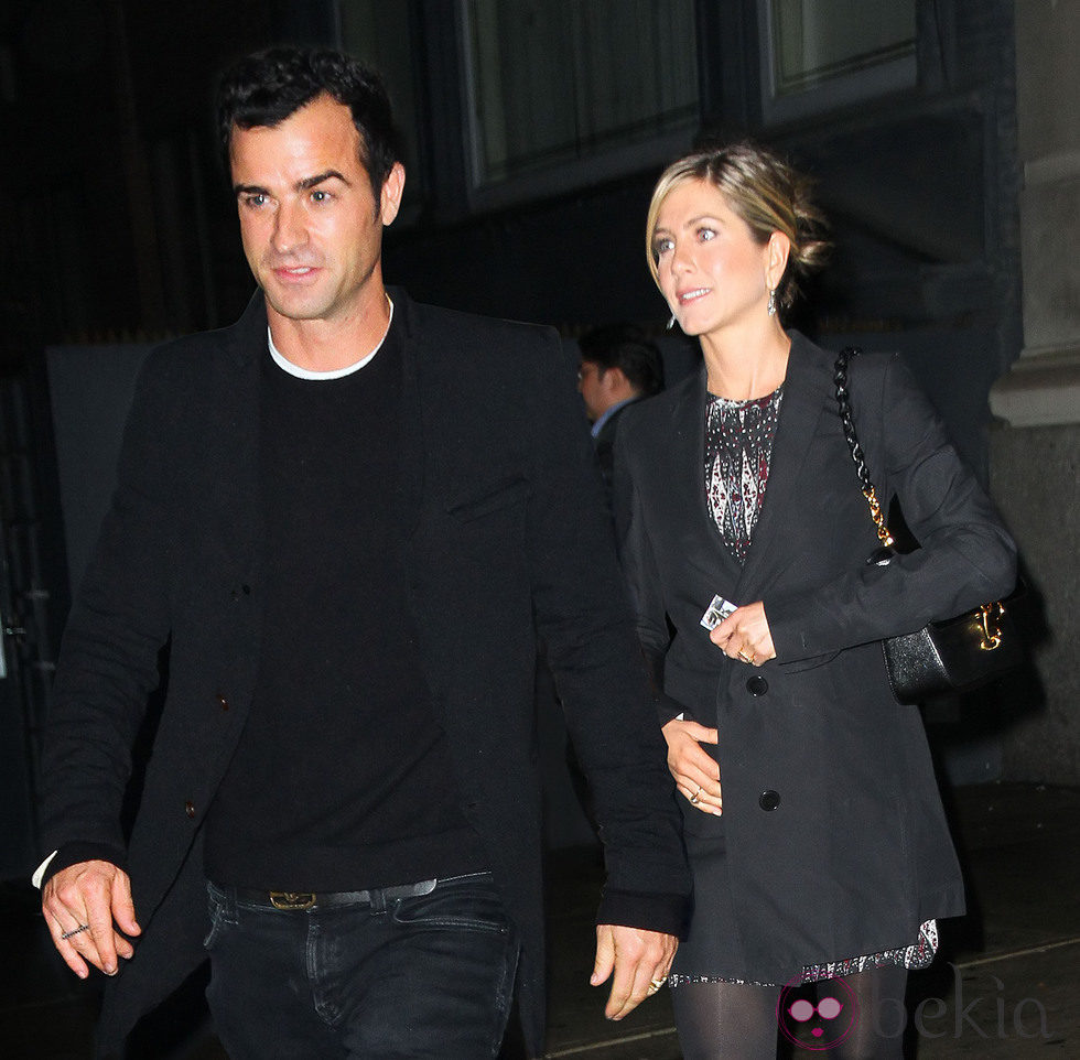 Jennifer Aniston y Justin Theroux están comprometidos