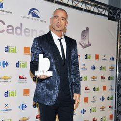 Eros Ramazzotti en los premios de Cadena Dial en el 2010