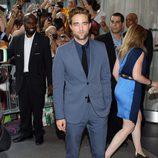 Robert Pattinson durante la promoción de 'Cosmopolis'