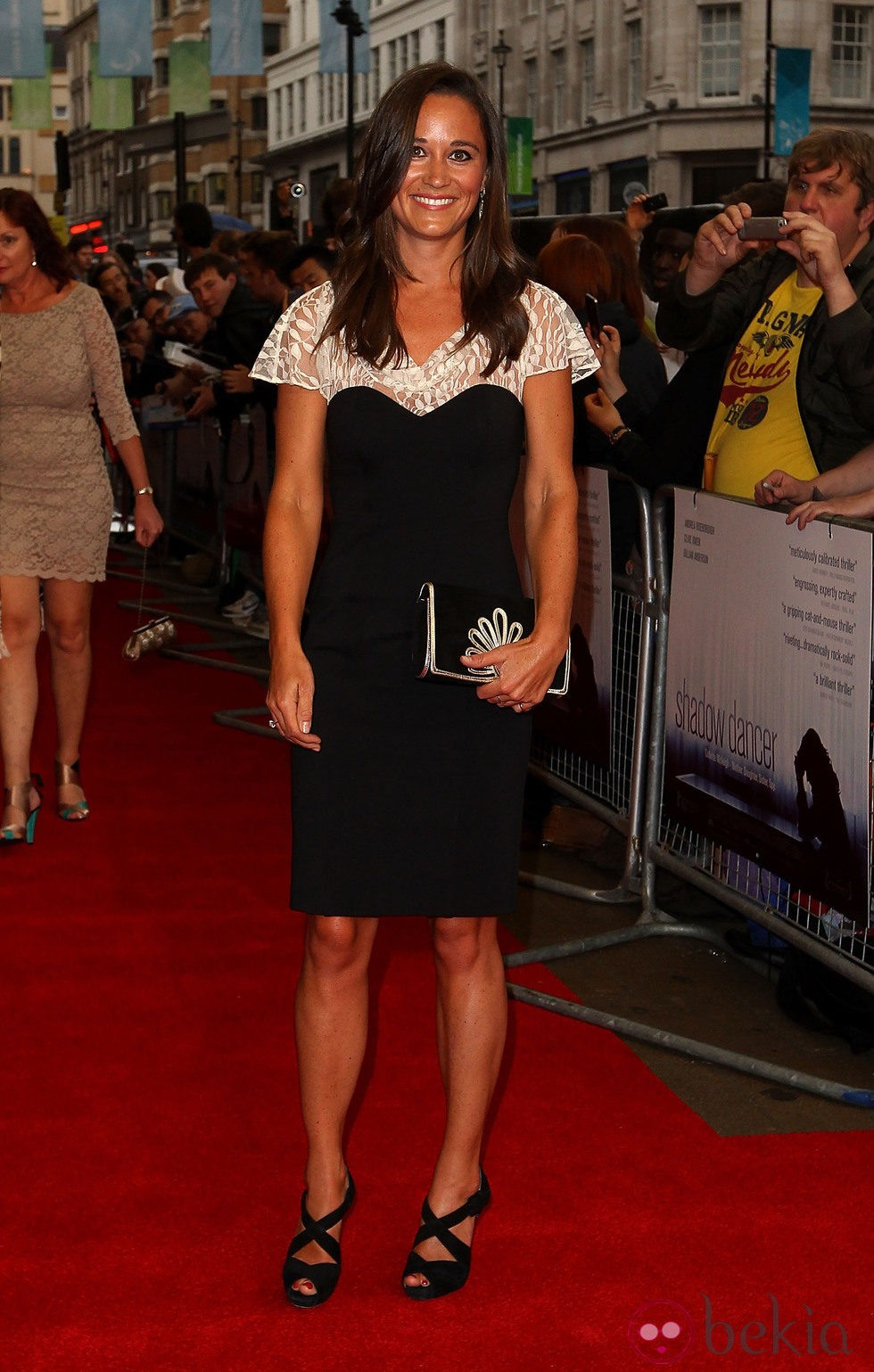 Pippa Middleton en el estreno de 'Shadow Dancer' en Londres