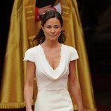 Pippa Middleton el día de la boda de los Duques de Cambridge
