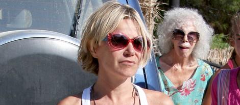 Eugenia Martínez de Irujo y la Duquesa de Alba disfrutan de Ibiza
