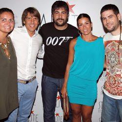 Estopa junto a El Cordobés y su mujer en el 'Starlite Festival' 2012