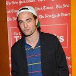 Robert Pattinson en la promoción de 'Cosmopolis'