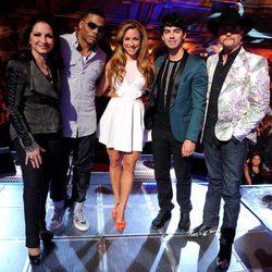 Gloria Estefan, Nelly, Allison Hagendorf, Joe Jonas y John Rich