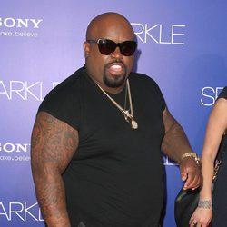 Cee-Lo Green en el estreno de 'Sparkle' en Los Ángeles