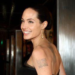 Angelina Jolie en la premiere de 'El curioso caso de Benjamin Button'