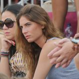 Lourdes Montes durante una corrida de toros en Sotogrande