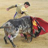 Fran Rivera toreando en Sotogrande