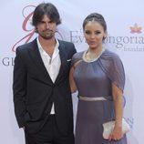 Chenoa y Curi Gallardo en la Global Gift Gala