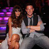 Lea Michele y Cory Monteith posan muy cómplices en la gala de los premios Do Something 2012