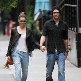 Justin Timberlake y Jessica Biel paseando por Nueva York