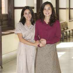 Macarena García y Nadia de Santiago en la presentación de 'Niños robados'