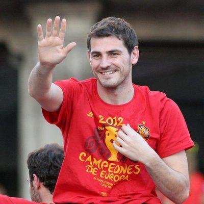 Iker Casillas, el portero de la Selección Española de Fútbol