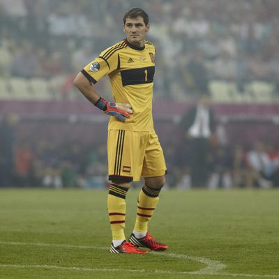 Iker Casillas, el capitán de la Selección Española de Fútbol