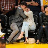 Justin Timberlake y Jessica Biel dando rienda suelta a su pasión en el baloncesto