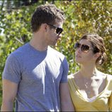 Miradas cómplices entre Justin Timberlake y Jessica Biel