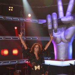 Rosario Flores es una de las 'coaches' de 'La Voz', el nuevo programa de Telecinco