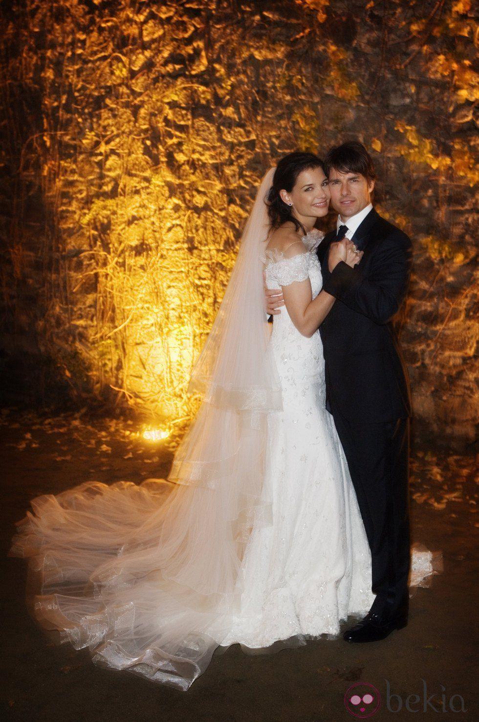 Boda de Tom Cruise y Katie Holmes en el Castello Odescalchi en el 2006