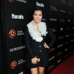 Kourtney Kardashian en Hollywood en el 2012