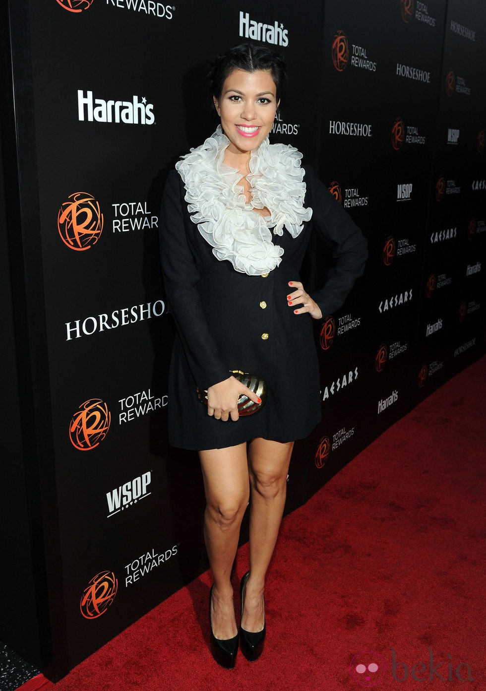 Kourtney Kardashian en Hollywood en el 2012