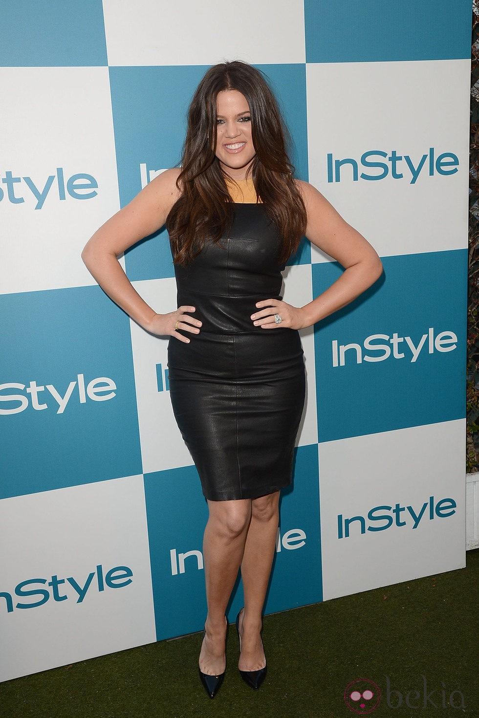 Khloe Kardashian en la presentación de InStyle en el 2012