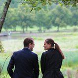 Victoria y Daniel de Suecia, dos enamorados en la inauguración del 'sendero del amor'