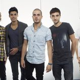 The Wanted, a punto de comenzar su gira por Estados Unidos