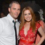 James Marsden e Isla Fisher en el estreno de 'Bachelorette' en Los Angeles
