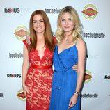 Isla Fisher y Kirsten Dunst en el estreno de 'Bachelorette' en Los Angeles