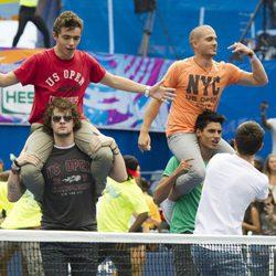 The Wanted en el US Open 2012