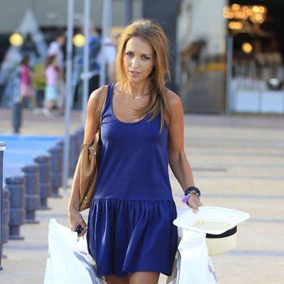 Paula Echevarría de compras por Madrid