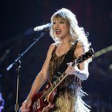 Taylor Swift en una actuación de 2012 en Australia