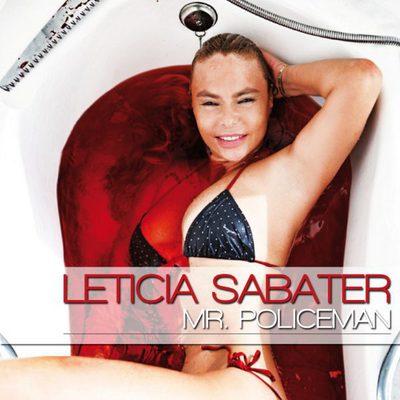 Portada de 'Mr.Policeman', el nuevo single de Leticia Sabater