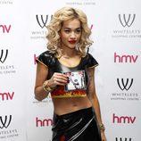 Rita Ora en la presentación de su disco 'Ora' en Londres