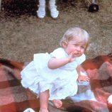 Lady Di cuando era pequeña