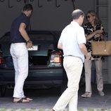 Primeras imágenes de los Duques de Palma tras volver a Barcelona