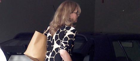 Primera imagen de la Infanta Cristina en su casa de Pedralbes tras volver a Barcelona