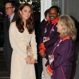 Kate Middleton en la ceremonia de apertura de los Juegos Paralímpicos de Londres 2012