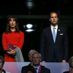 David y Samantha Cameron y los Duques de Cambridge en la apertura de los Paralímpicos de Londres 2012