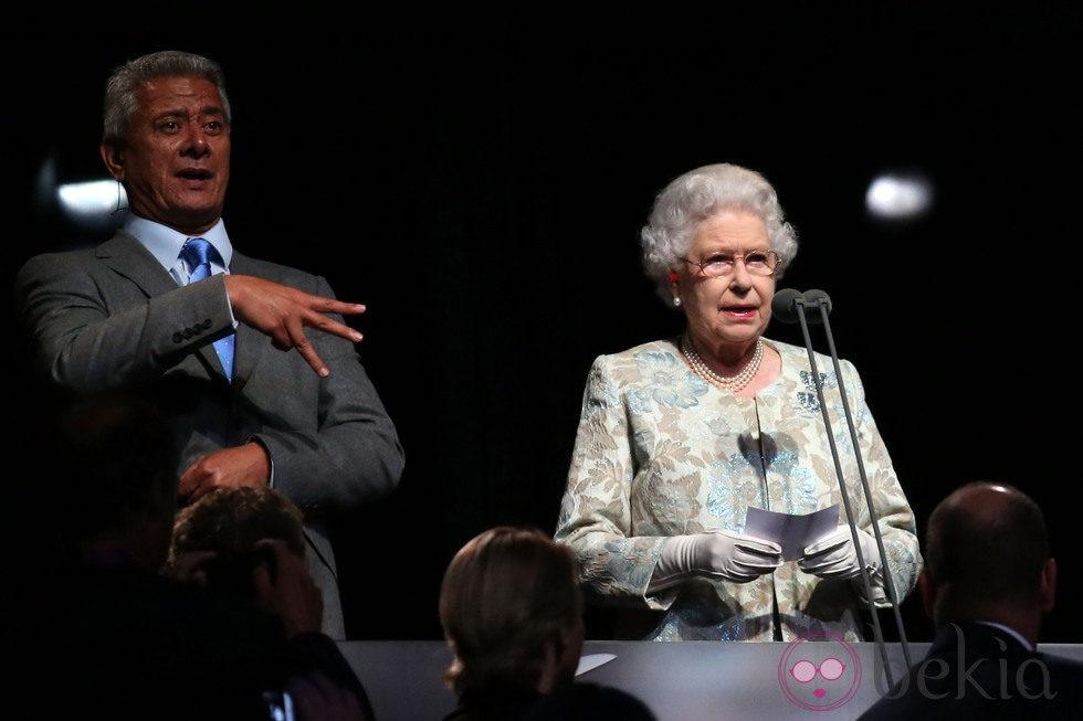La Reina Isabel abre oficialmente los Juegos Paralímpicos de Londres 2012