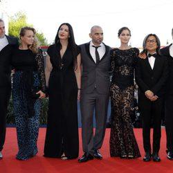 El jurado de la Mostra en la apertura del Festival de Cine de Venecia 2012