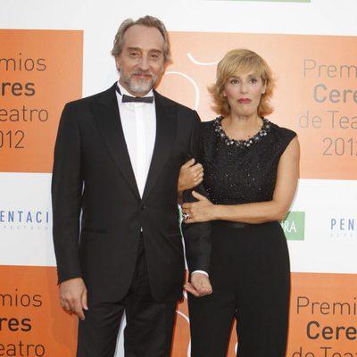 Gonzalo de Castro y Anabel Alonso en los Premios Ceres 2012