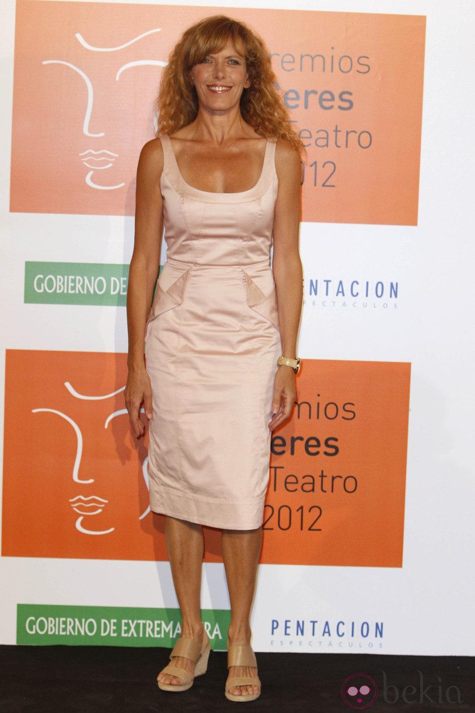 Carmen Conesa En Los Premios Ceres 2012 Alfombra Roja Y