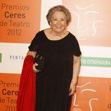 María Galiana en los Premios Ceres 2012